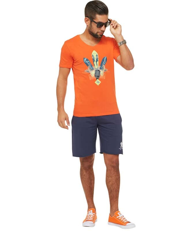 Summerfresh T-Shirt COCKTAIL Herren orange
