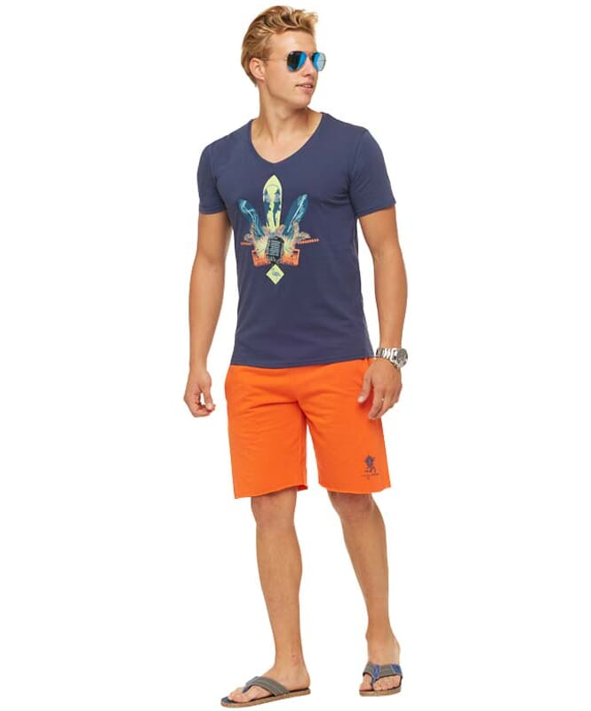 Summerfresh T-Shirt COCKTAIL Herren dunkelblau
