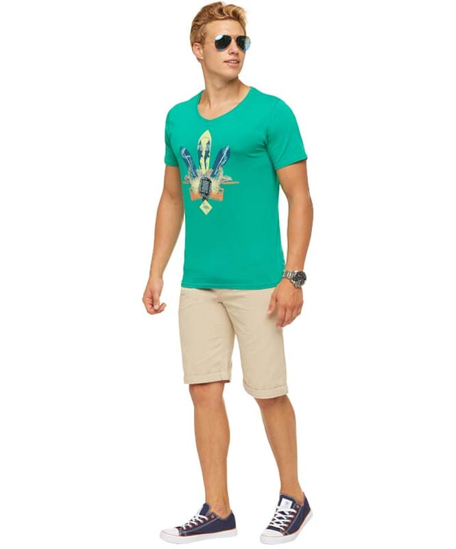 Summerfresh T-Shirt COCKTAIL Herren grün