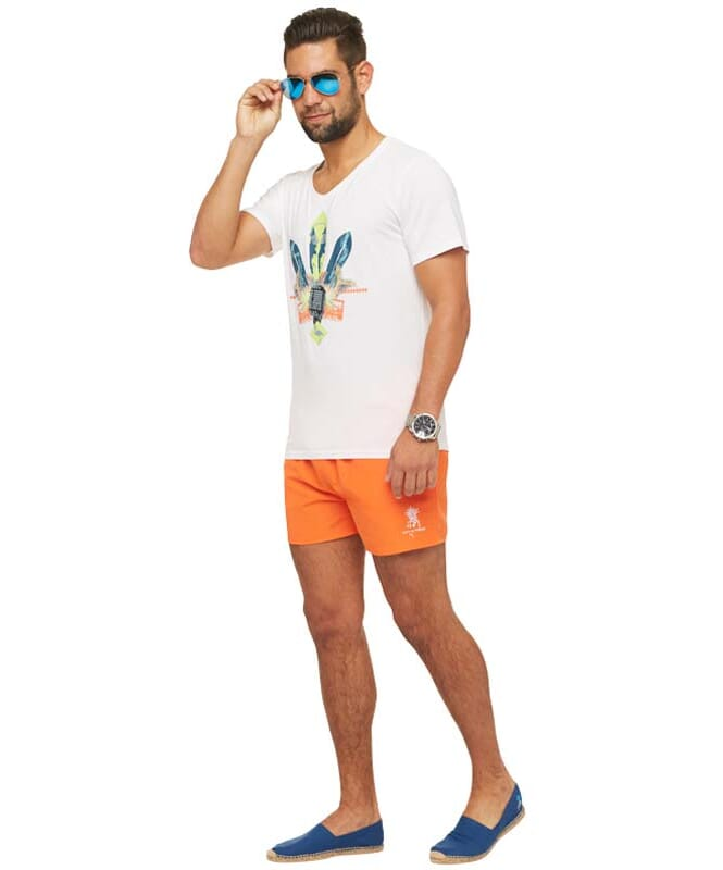 Summerfresh T-Shirt COCKTAIL Herren weiß