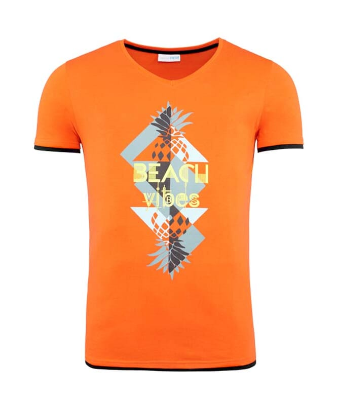Summerfresh T-Shirt CALIFORNIA Herren orange