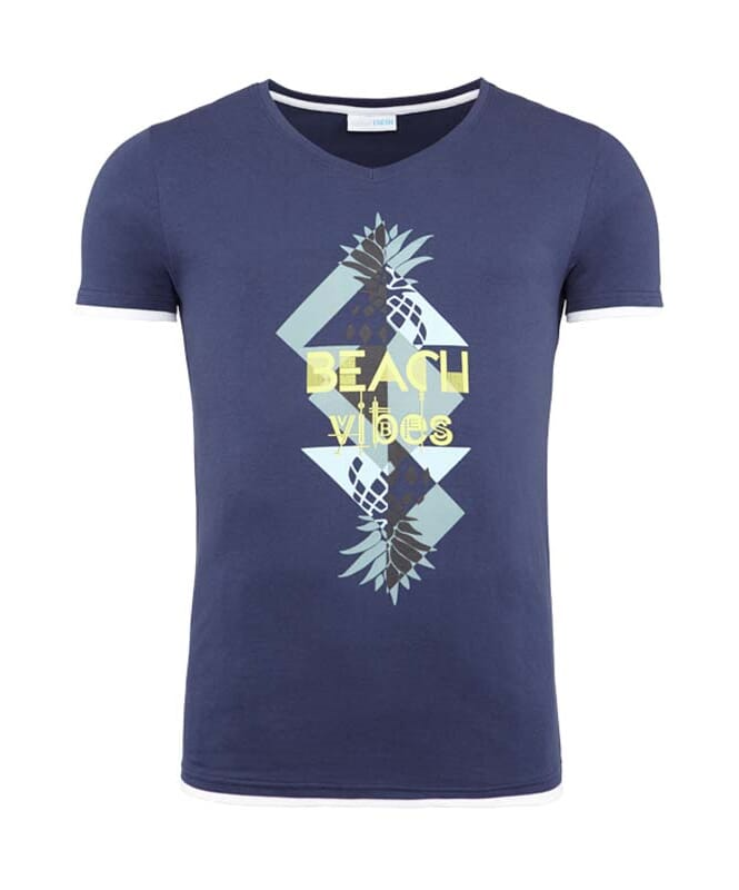 Summerfresh T-Shirt CALIFORNIA Herren navy