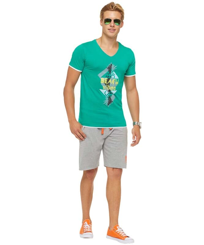 Summerfresh T-Shirt CALIFORNIA Herren grün