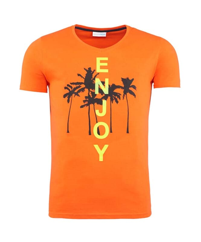 Summerfresh T-Shirt SPLASH Herren orange