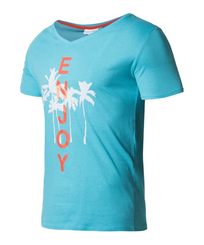 Summerfresh T-Shirt SPLASH Herren hellblau