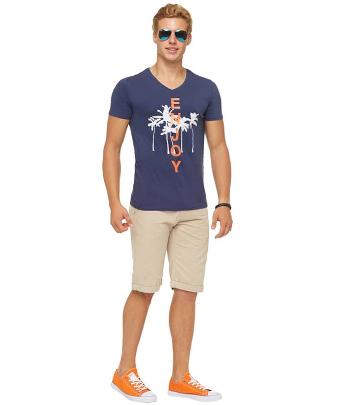 Summerfresh T-Shirt SPLASH Herren navy