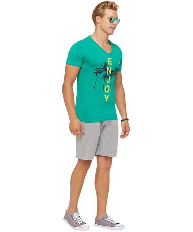 Summerfresh T-Shirt SPLASH Herren grün