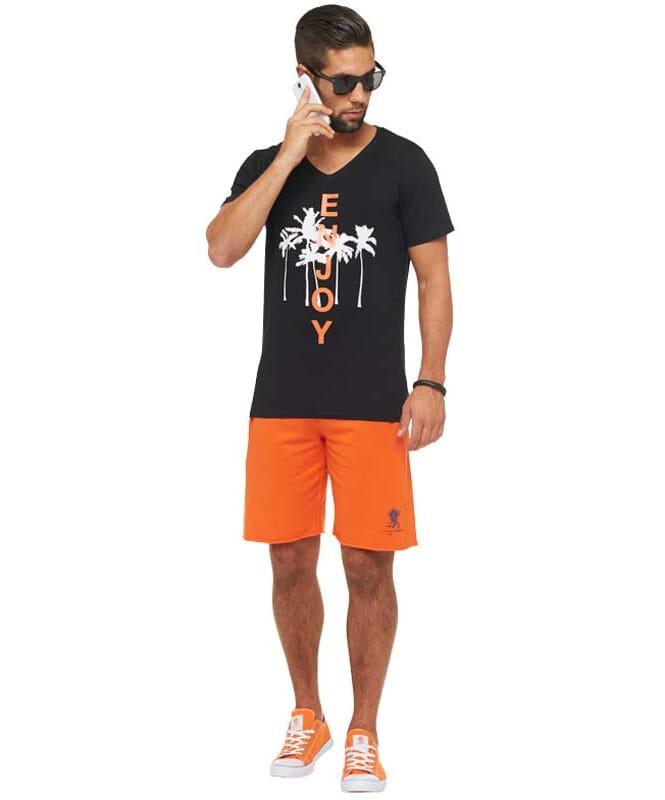 Summerfresh T-Shirt SPLASH Herren schwarz