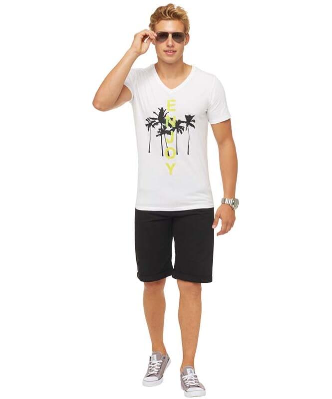 Summerfresh T-Shirt SPLASH Herren weiß