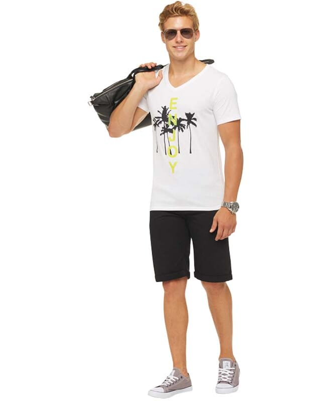 Summerfresh T-Shirt SPLASH Herren weiß