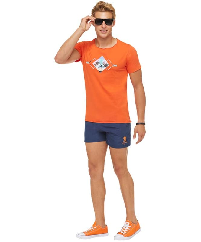 Summerfresh T-Shirt BLUE Herren orange