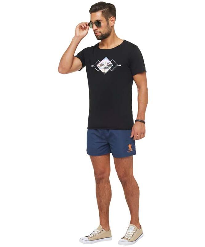 Summerfresh T-Shirt BLUE Herren schwarz