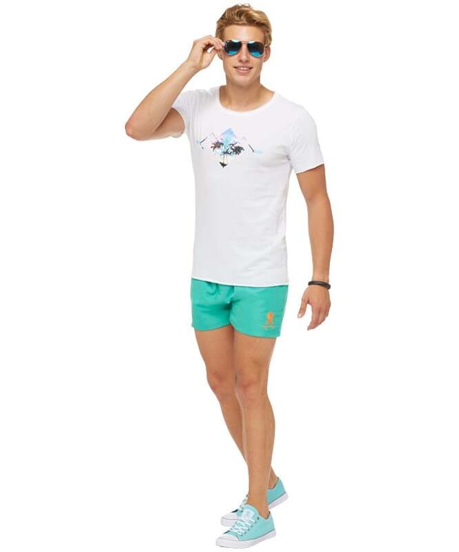 Summerfresh T-Shirt BLUE Herren weiß