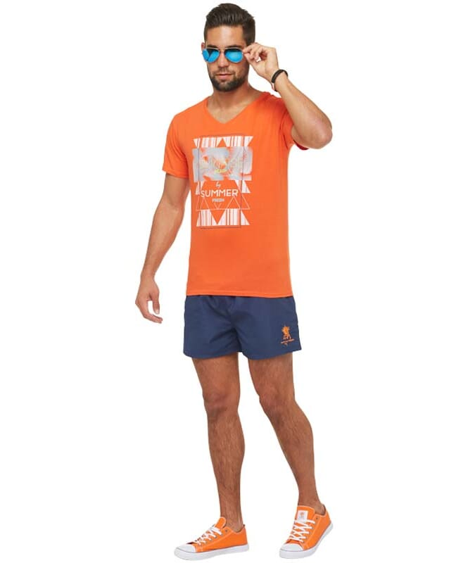 Summerfresh T-Shirt BOARDING Herren orange