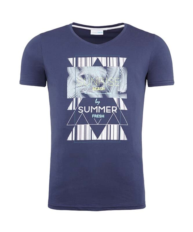 Summerfresh T-Shirt BOARDING Herren navy