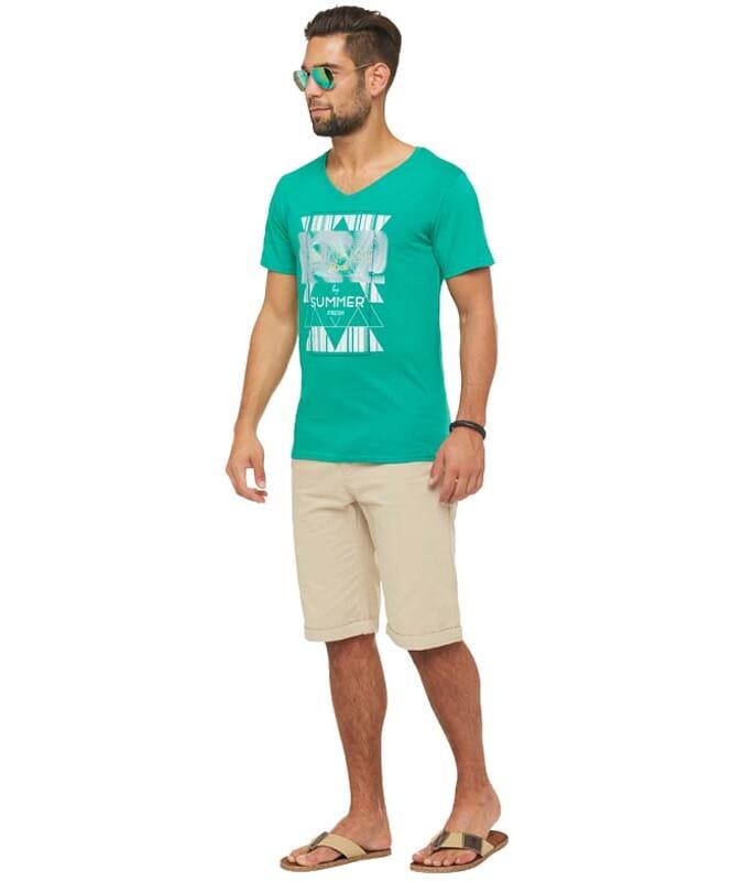 Summerfresh T-Shirt BOARDING Herren grün