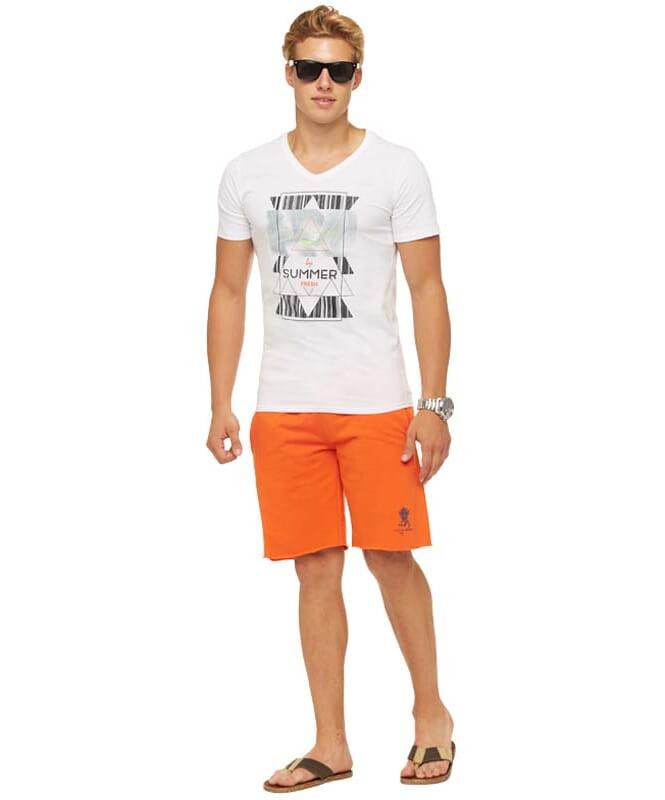 Summerfresh T-Shirt BOARDING Herren weiß