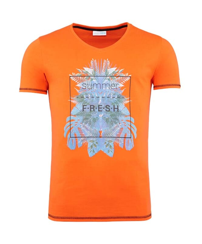 Summerfresh T-Shirt CLIFF Herren orange