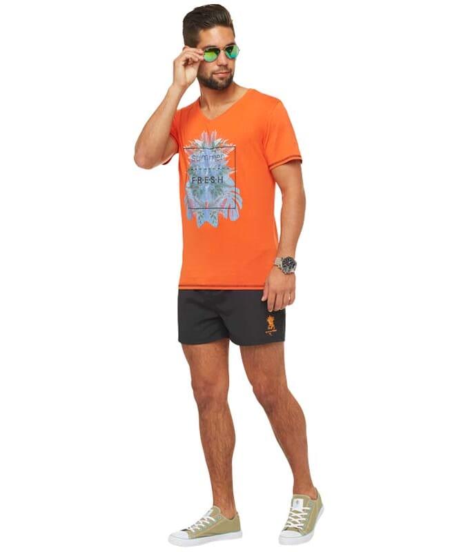 Summerfresh T-Shirt CLIFF Herren orange