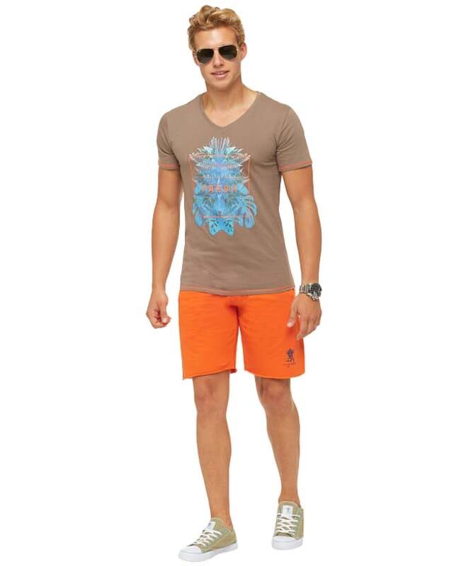 Summerfresh T-Shirt CLIFF Herren hellbraun