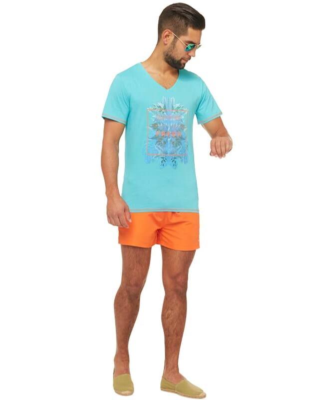 Summerfresh T-Shirt CLIFF Herren hellblau