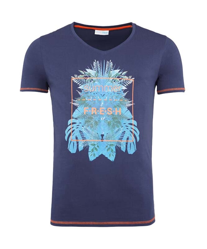Summerfresh T-Shirt CLIFF Herren navy