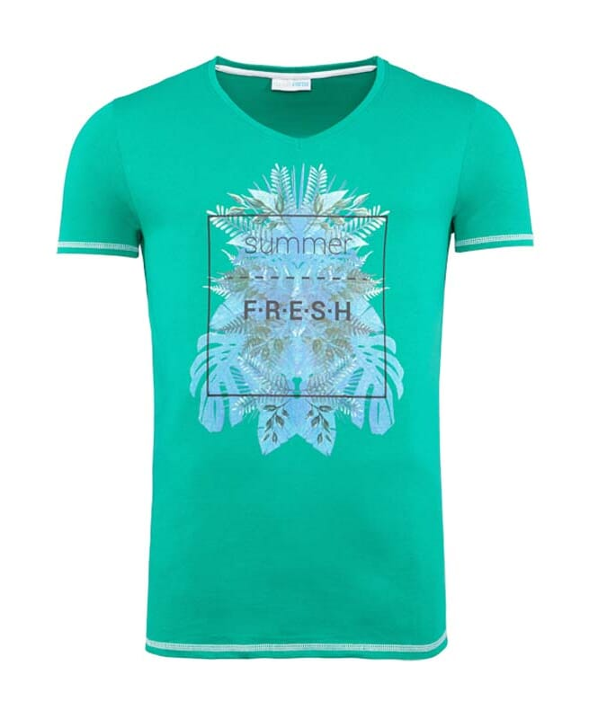 Summerfresh T-Shirt CLIFF Herren grün