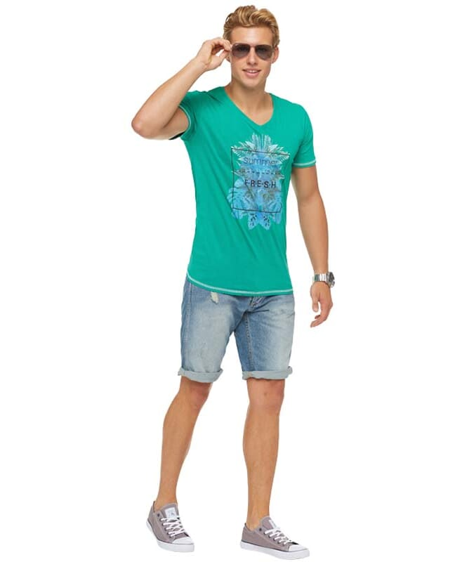 Summerfresh T-Shirt CLIFF Herren grün