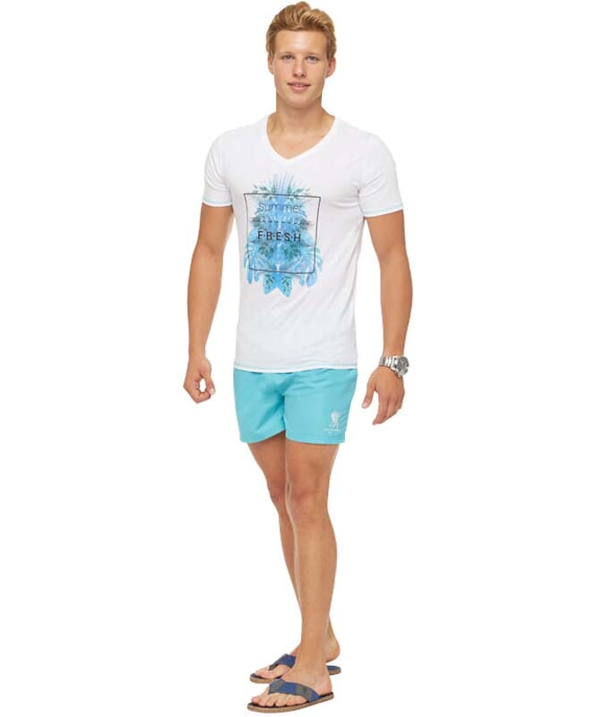 Summerfresh T-Shirt CLIFF Herren weiß