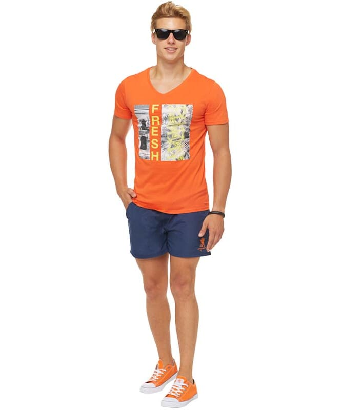 Summerfresh T-Shirt PARADISE Herren orange