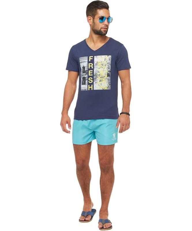 Summerfresh T-Shirt PARADISE Herren navy