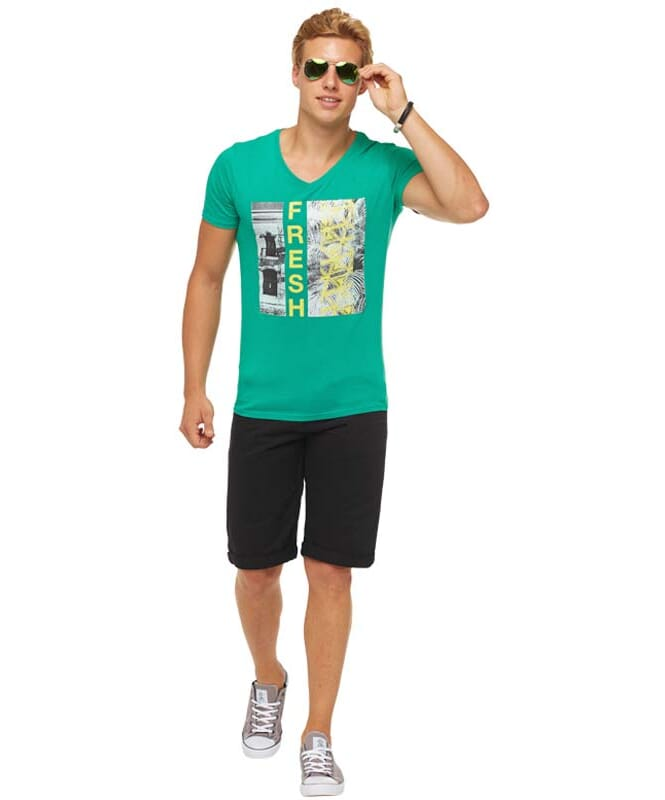 Summerfresh T-Shirt PARADISE Herren grün