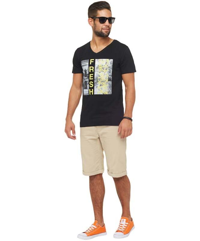 Summerfresh T-Shirt PARADISE Herren schwarz