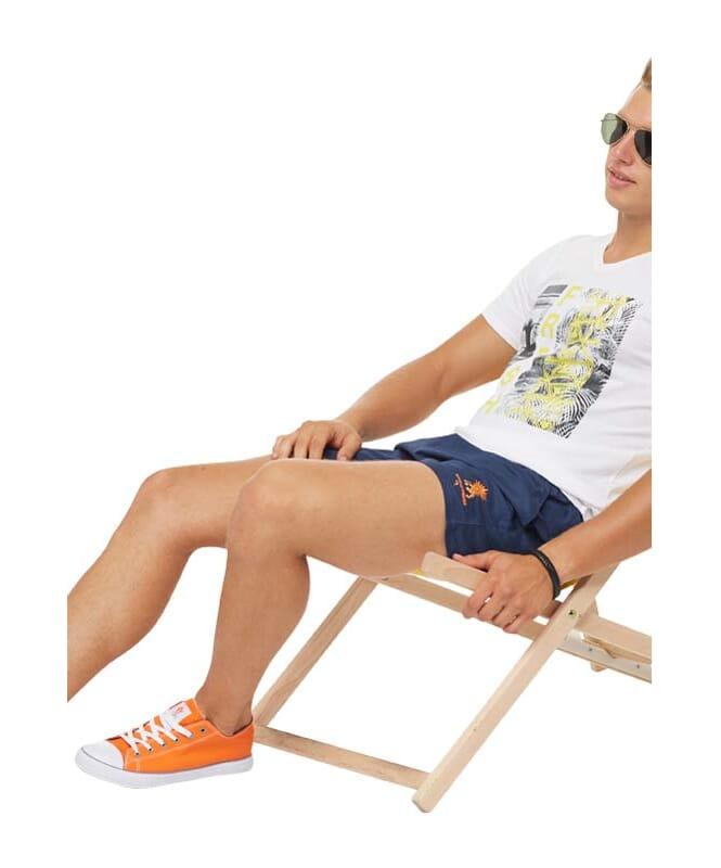 Summerfresh T-Shirt PARADISE Herren weiß