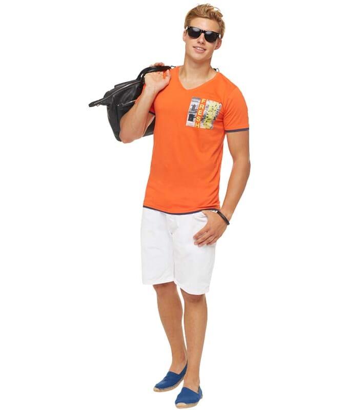 Summerfresh T-Shirt FLORIDA Herren orange