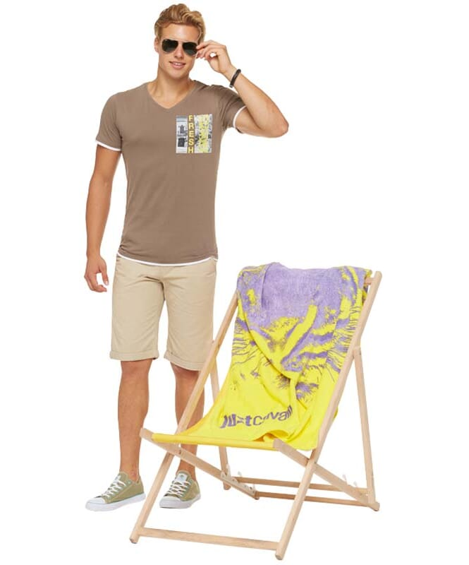 Summerfresh T-Shirt FLORIDA Herren hellbraun