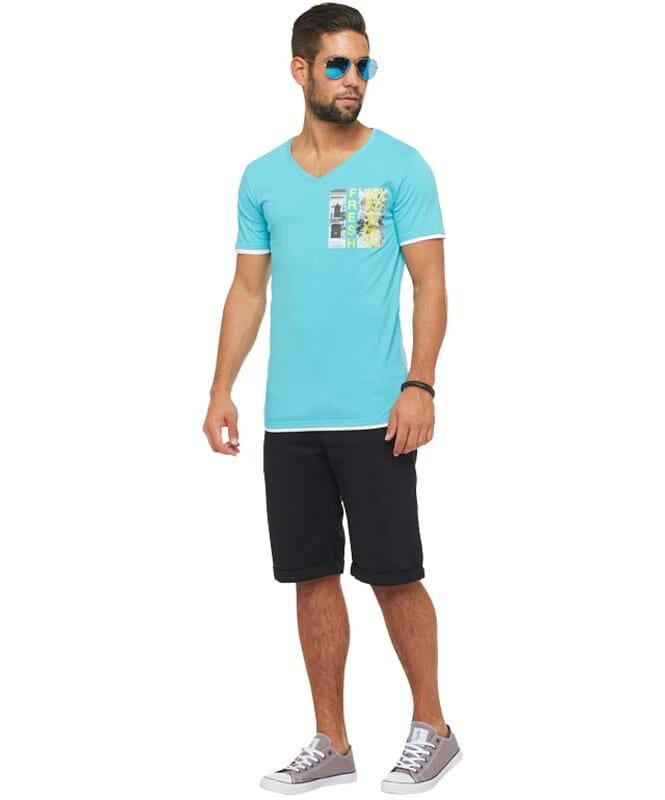 Summerfresh T-Shirt FLORIDA Herren hellblau