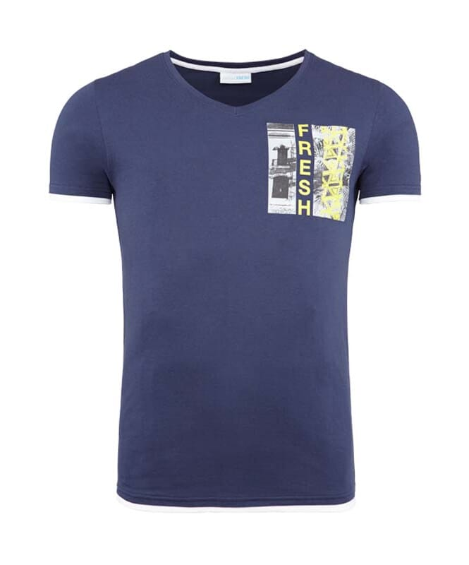 Summerfresh T-Shirt FLORIDA Herren navy