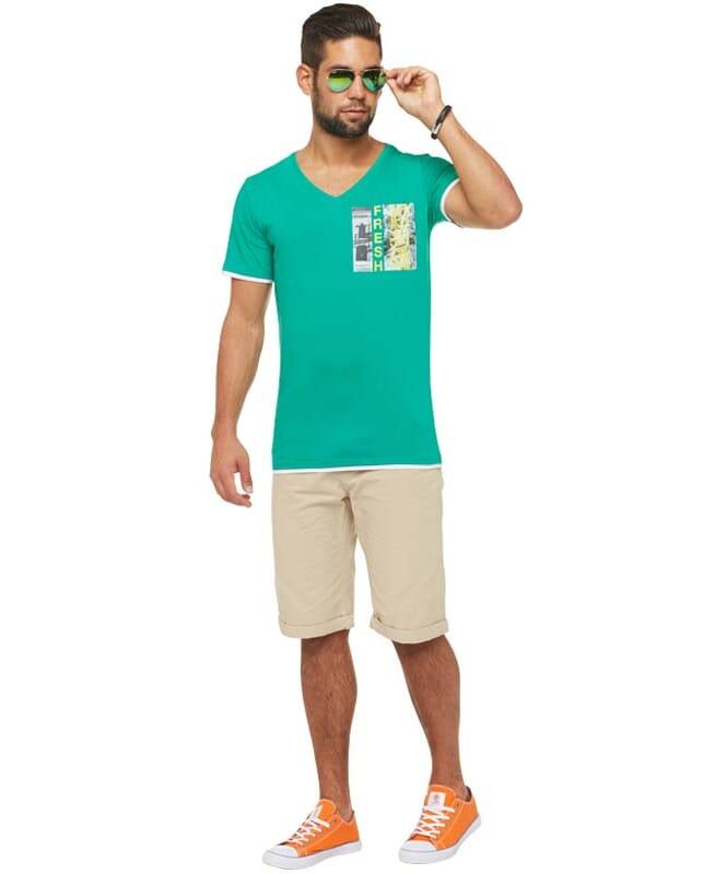 Summerfresh T-Shirt FLORIDA Herren grün