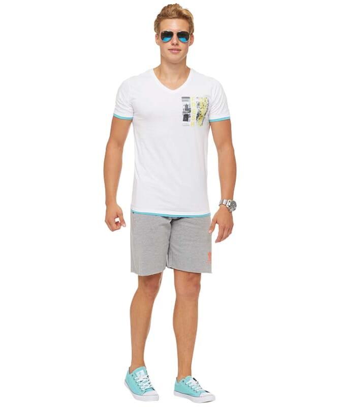 Summerfresh T-Shirt FLORIDA Herren weiß