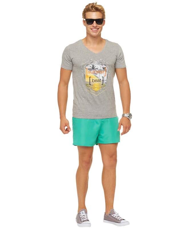 Summerfresh T-Shirt BRASIL Herren grau