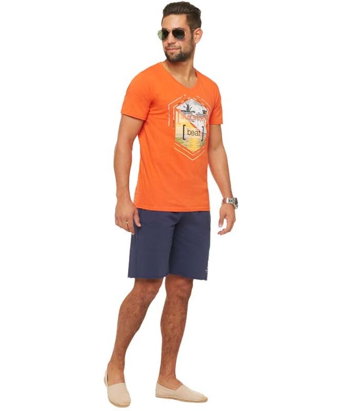 Summerfresh T-Shirt BRASIL Herren orange