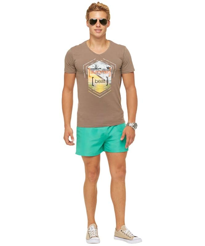 Summerfresh T-Shirt BRASIL Herren hellbraun
