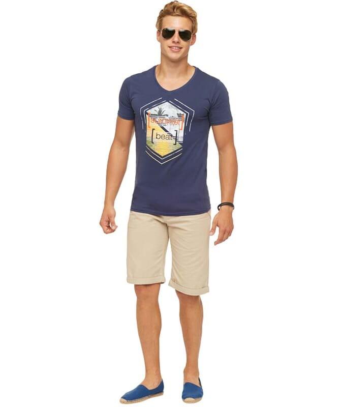 Summerfresh T-Shirt BRASIL Herren navy