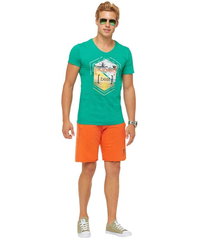 Summerfresh T-Shirt BRASIL Herren grün