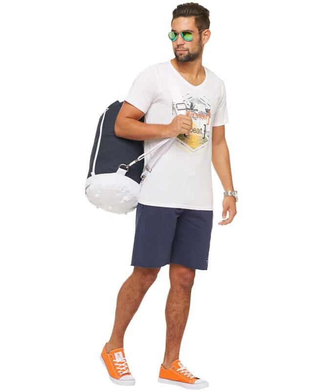 Summerfresh T-Shirt BRASIL Herren weiß