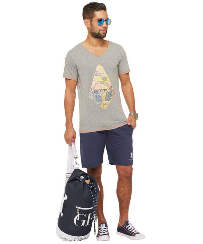 Summerfresh T-Shirt FLORIS Herren grau