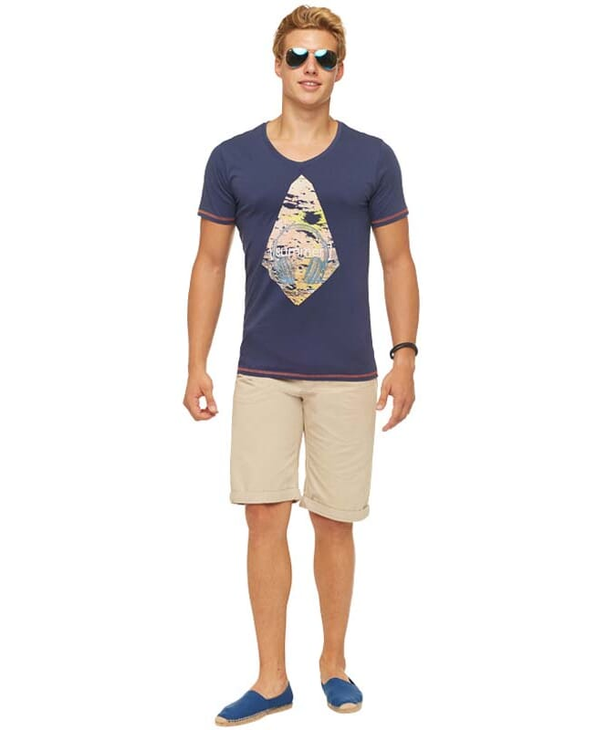 Summerfresh T-Shirt FLORIS Herren navy