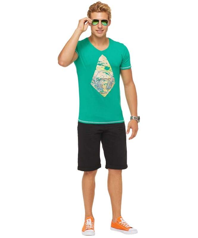Summerfresh T-Shirt FLORIS Herren grün