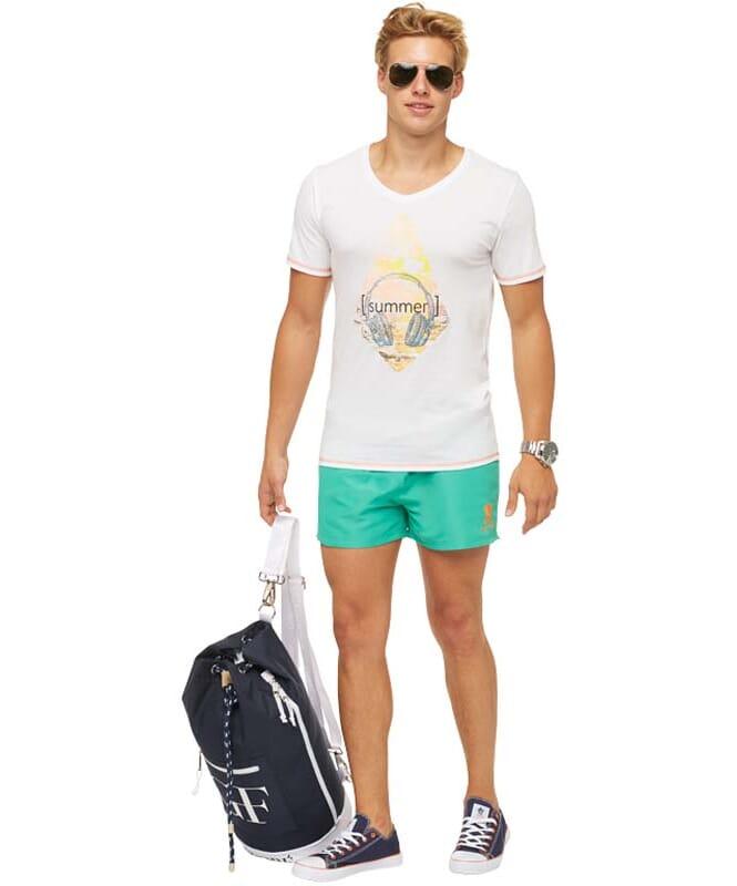 Summerfresh T-Shirt FLORIS Herren weiß